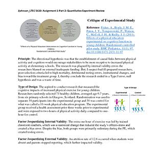 Evaluation - Critique of Experimental Study.pdf